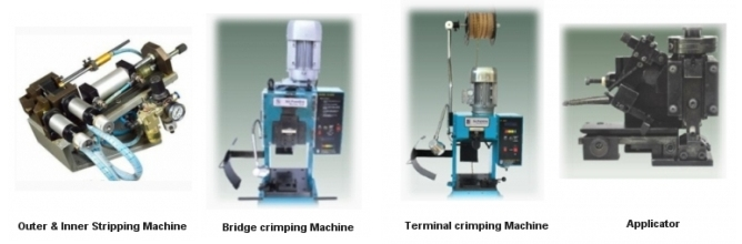Stripping and Crimping machines